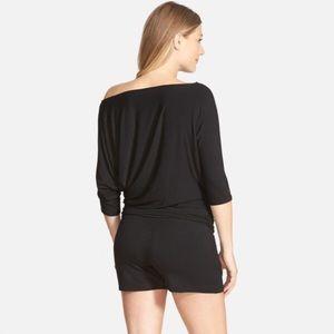 92c5a503dd3a Tart Other - Tart maternity off shoulder black romper